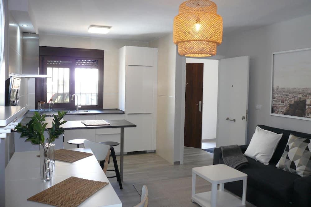 Apartment, 1 Bedroom, Patio - Living Area