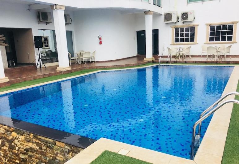 De Brit Hotel, Ciudad de Benin, Piscina al aire libre