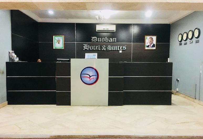 Duoban Hotel & Suite, Benin City, Móttaka