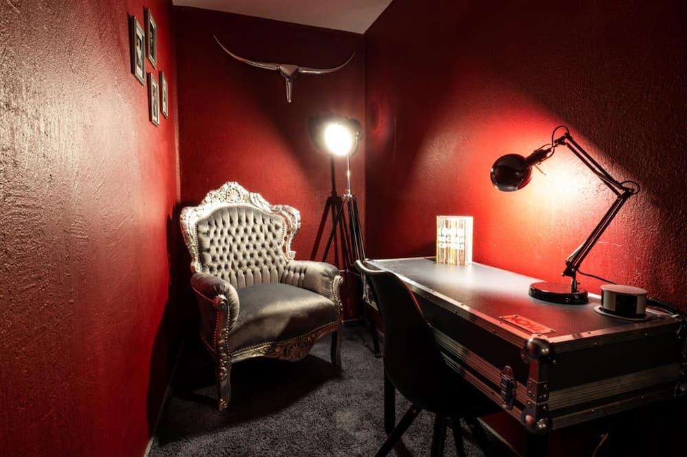 Habitación individual, 1 cama individual, para no fumadores - Sala de estar
