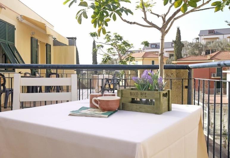Residence Perla, Alassio, Apartamento, 1 habitación (up 5 people), Terraza o patio