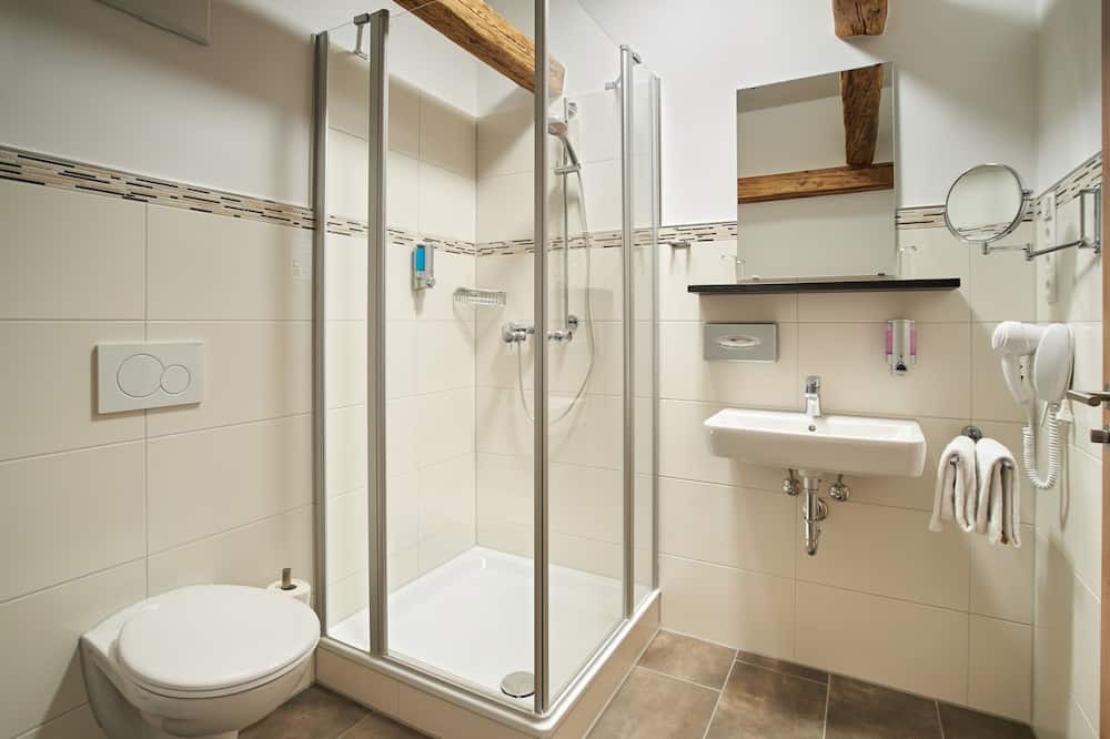 Superior Double Room, Balcony (Kastanie) - Bathroom