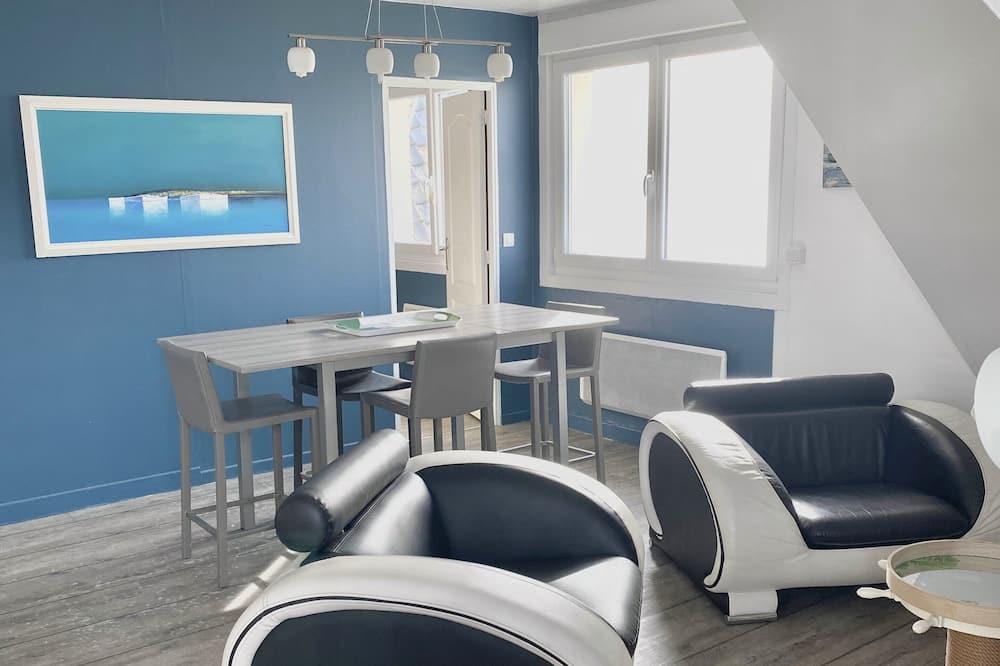 套房, 2 張標準雙人床, 海景 - 客廳