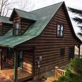 Rumah, 2 kamar tidur, perapian, pemandangan gunung (Pet Friendly) - Bagian depan properti