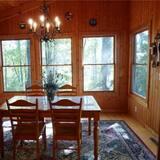 בית, 2 חדרי שינה, אח, נוף להר (Pet Friendly) - אזור אוכל בחדר