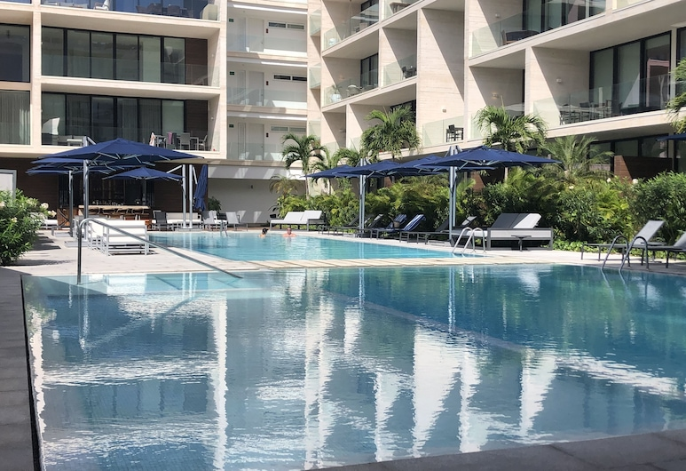 Oceana Residences, Playa del Carmen, Piscine en plein air