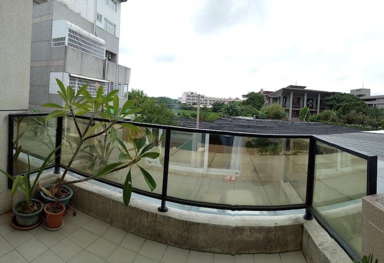 兩朵昀民宿, 台東市, 家庭四人房, 2 張標準雙人床, 非吸煙房, 城市景觀, 城市景觀