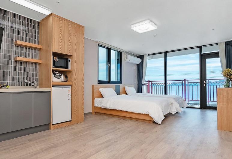 Gold Beach Resort, Yeosu, Superior İki Ayrı Yataklı Oda, Okyanus Manzaralı, Denize sıfır, Oda