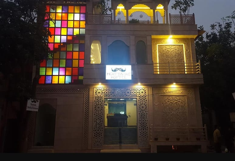 Mosutache Agra, Agra, Hotel Front – Evening/Night