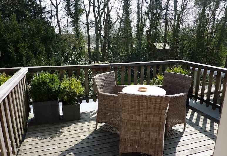 Hotel Pension Zoom-Oord, Renesse, Pokój dwuosobowy, standardowy, widok na ogród (12), Balkon