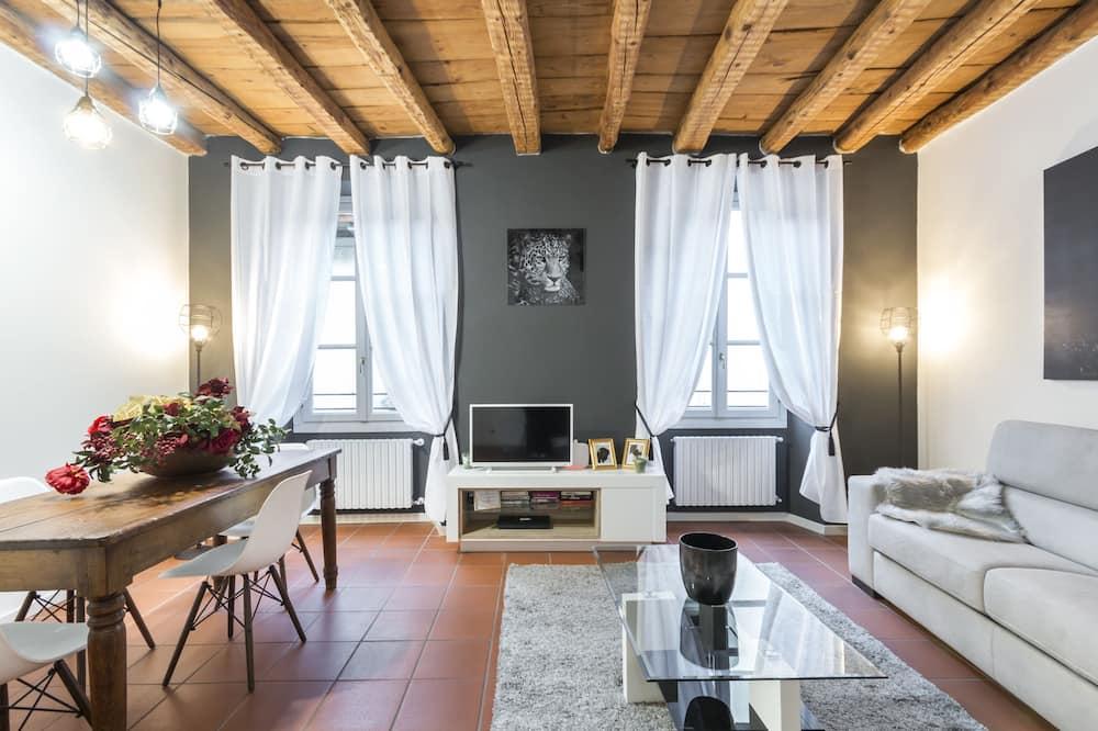 Deluxe apartman, 1 spavaća soba - Dnevna soba