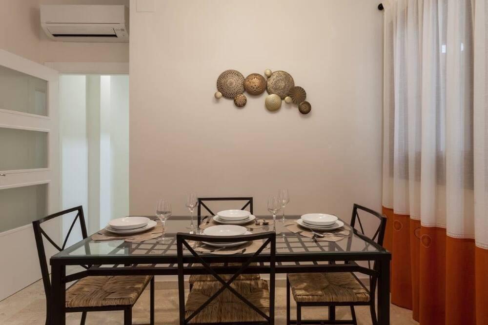 Departamento, 2 habitaciones, terraza - Servicio de comidas en la habitación