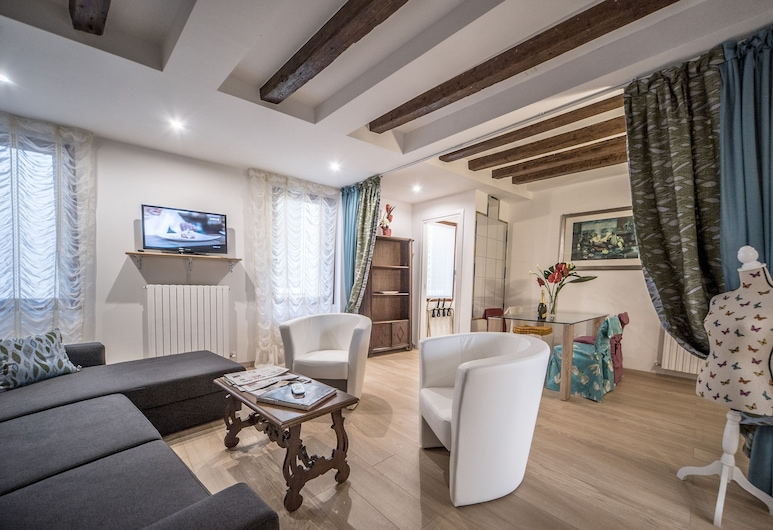 Ca' Alba, Venetsia, Huoneisto, 1 makuuhuone, Olohuone