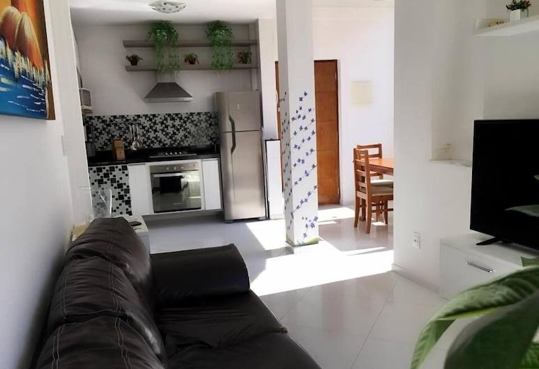 Rio Estate Apartamento 73F, Rio de Janeiro, Apartment, 2Doppelbetten, Wohnzimmer
