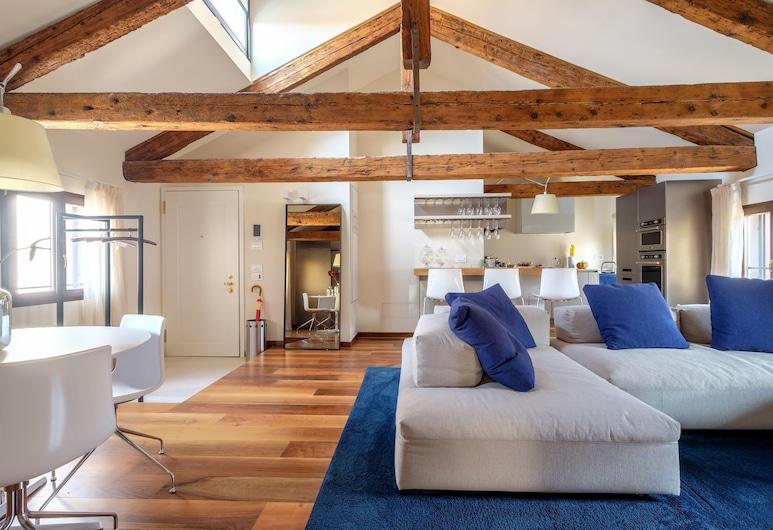 Ca' Moro - Clemente, Venēcija, Dzīvokļnumurs, divas guļamistabas, Dzīvojamā istaba