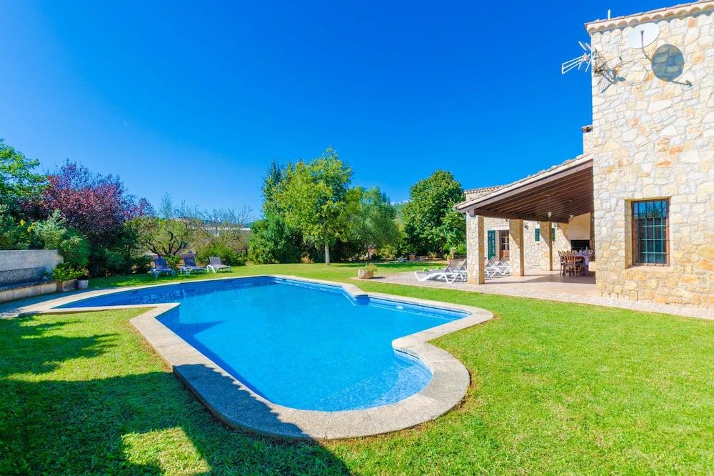 Вілла, 4 спальні, приватний басейн, з видом на сад - Приватний басейн