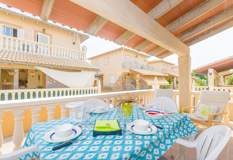 ARITJA, 5, Alcudia, Chalet, 4 chambres, terrasse, Terrasse/Patio