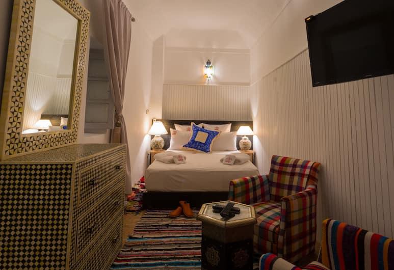 리야드 람즈, 마라케시, 스탠다드 더블룸, 더블침대 1개 또는 싱글침대 2개, 금연, 객실