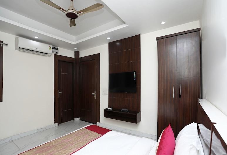 OYO Flagship 13847 HCMR Complex, Neu-Delhi, Doppel- oder Zweibettzimmer, Zimmer