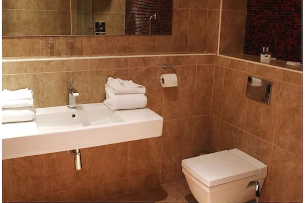 Номер с 2 односпальными кроватями (Disability Access) - Ванная комната