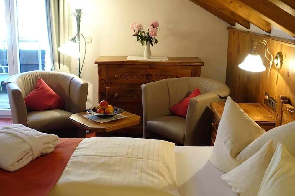 Habitación doble Confort, 1 cama Queen size, para no fumadores - Sala de estar