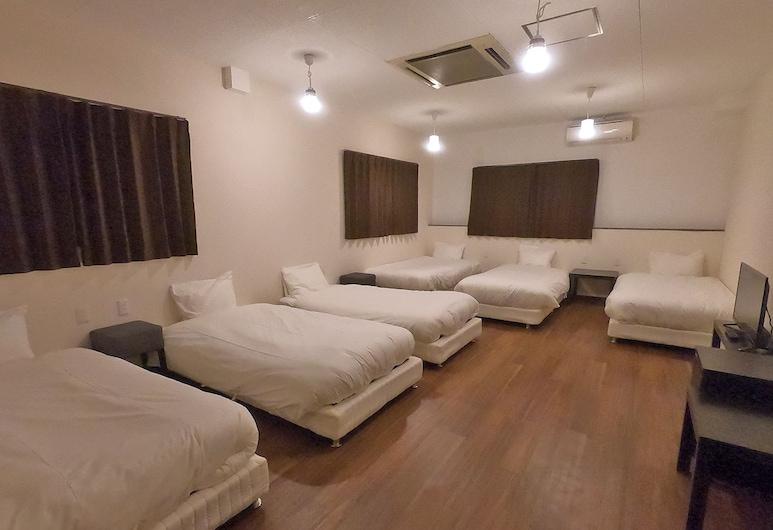 テラスハウス弁天町, 大阪市, アパートメントルーム (シングルベッド6台), 部屋