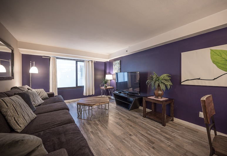 Stay Together Suites 2Bd-2Ba Apartment, Las Vegas, Nappali rész