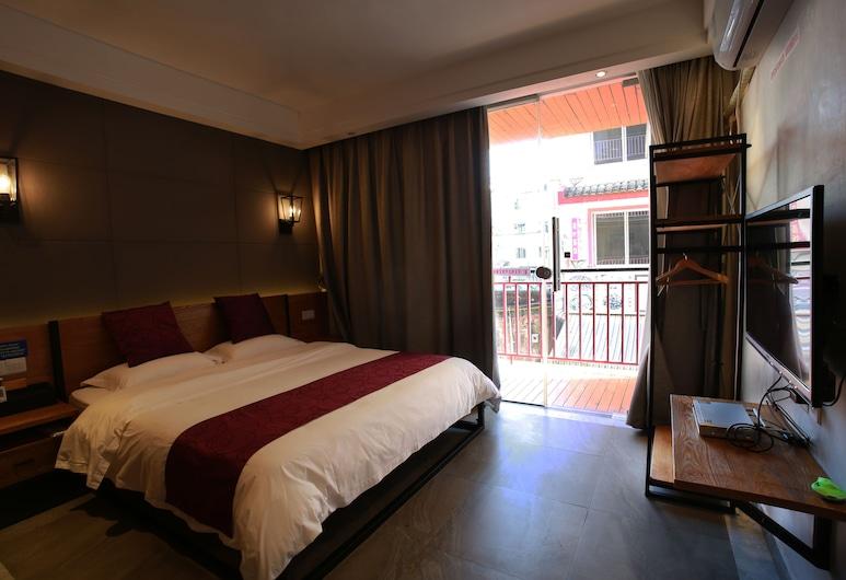 Holland Boutique Inn, Jiaxing, Pokój dwuosobowy typu Deluxe, balkon, Pokój