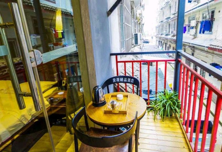 Holland Boutique Inn, Jiaxing, Pokoj Deluxe se dvěma jednolůžky, balkon, Pokoj
