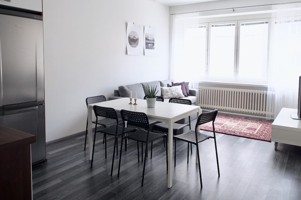 Appartement Confort, 1 chambre, vue ville - Restauration dans la chambre