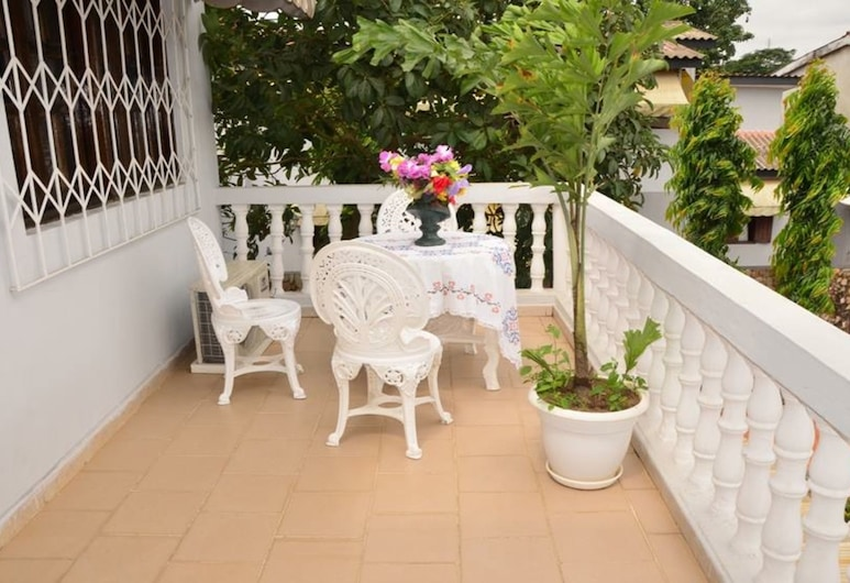 Residence Soleil Levant I, Abidjan, Terrasse/patio
