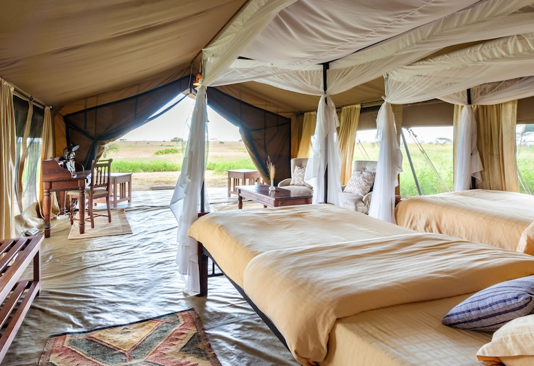 Serengeti Sametu Camp, Serengeti National Park, Luxury Tent Single/Double, Guest Room