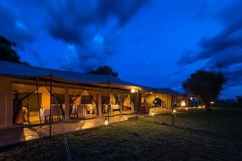 Serengeti Ulusal Parkı bölgesindeki Serengeti River Camp resmi
