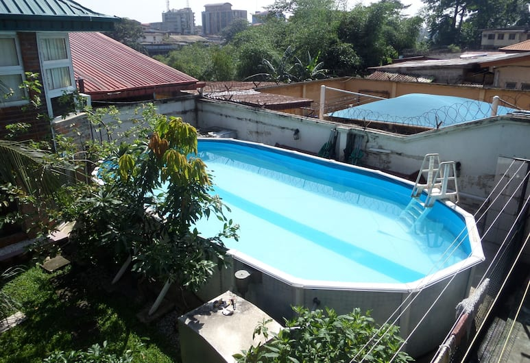 House No 12B, Lagos, Outdoor Pool
