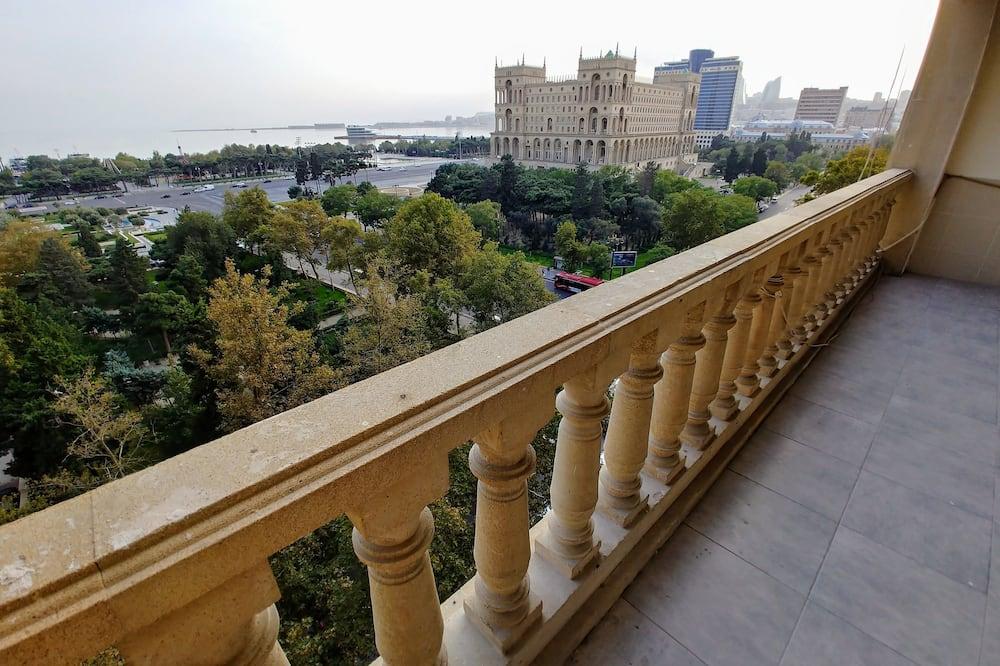 Розкішні апартаменти, 2 спальні, кухня, з видом на море - Балкон