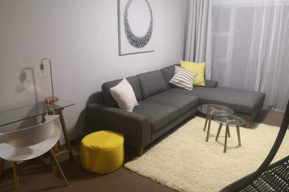 Apartamentai verslo klientams, 2 miegamieji - Svetainės zona