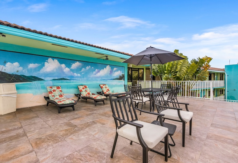 Ocean Reef Hotel, Fort Loderdeilis, Terasa / vidinis kiemas