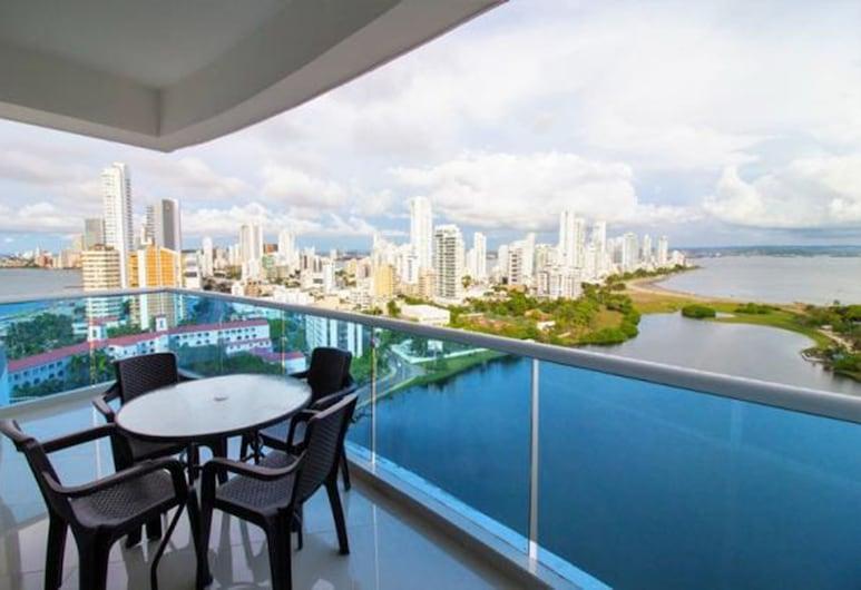 Apartamento Laguito - CTG122A, Cartagena, Apartament rodzinny, 3 sypialnie, Balkon