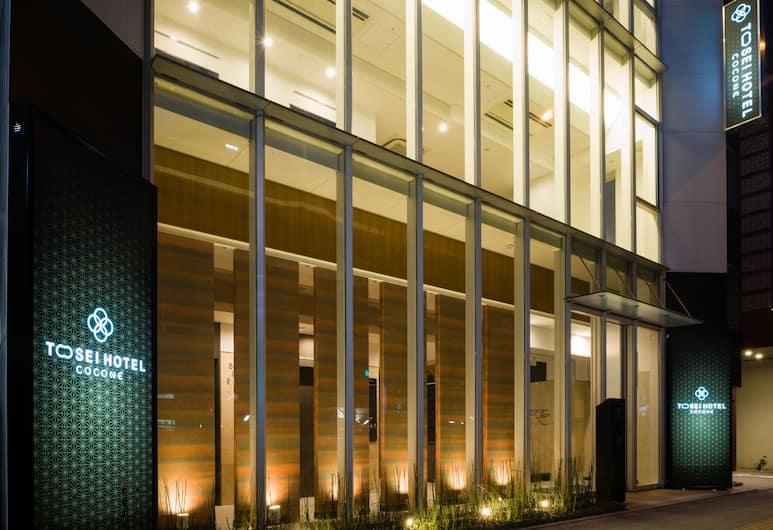 Tosei Hotel Cocone Ueno, Tokyo, Facciata hotel (sera/notte)