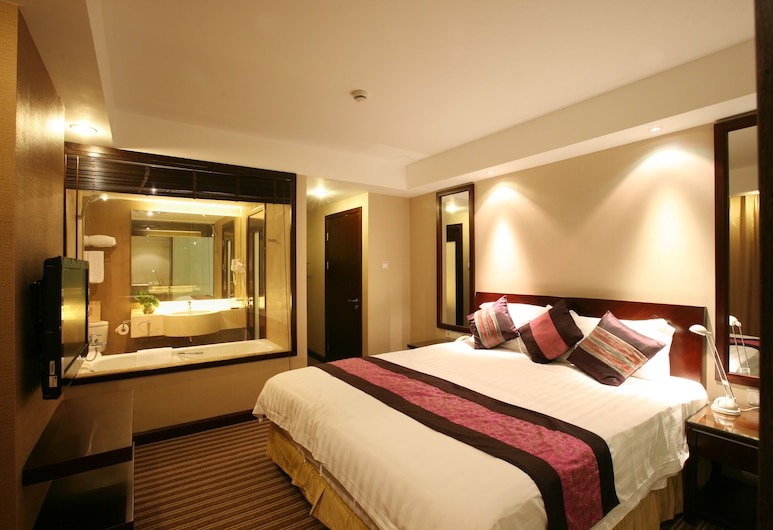 Shanghai Annshe Hotel, Shanghai, Luxury Suite, 2 Bedrooms, 2 Bathrooms, Guest Room