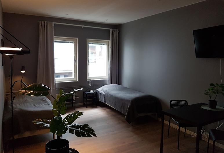 Vandrarhem Uppsala Portalgatan, Uppsala, Zweibettzimmer, Gemeinschaftsbad, Zimmer