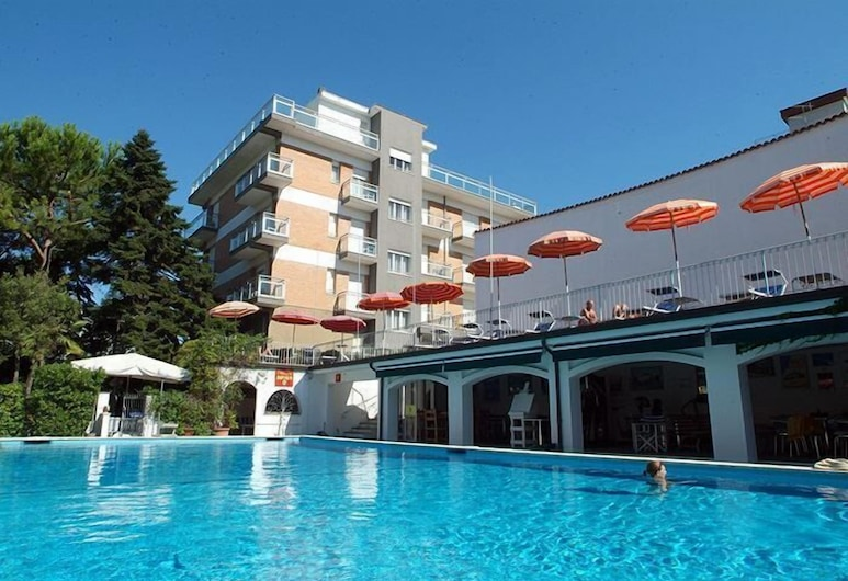 Hotel Nautic, Bellaria-Igea Marina, Välibassein