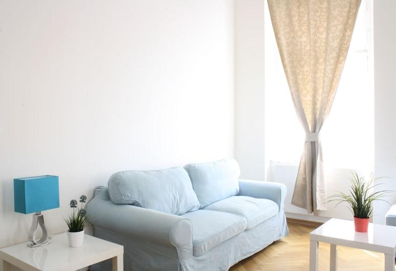 Residence Bílkova, Praga, Apartamento, 2 quartos, Área de estar