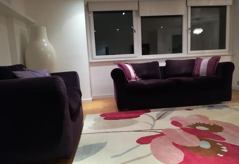 上艾迪生花園酒店, 倫敦, 公寓, 2 間臥室, 客廳