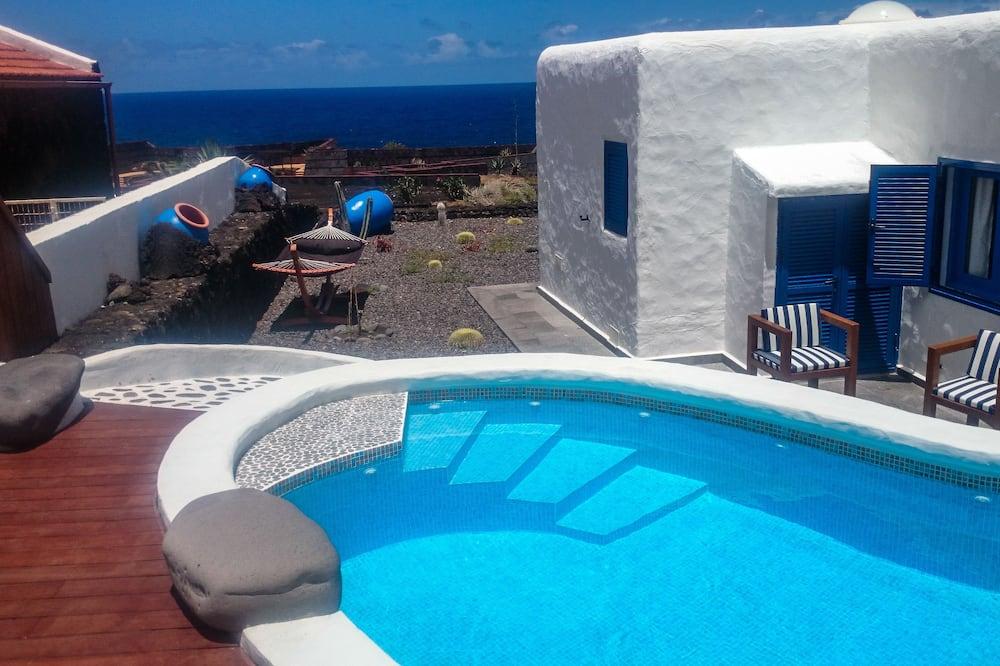 Villa, 4 hálószobával, privát medence, kilátással az óceánra - Saját medence
