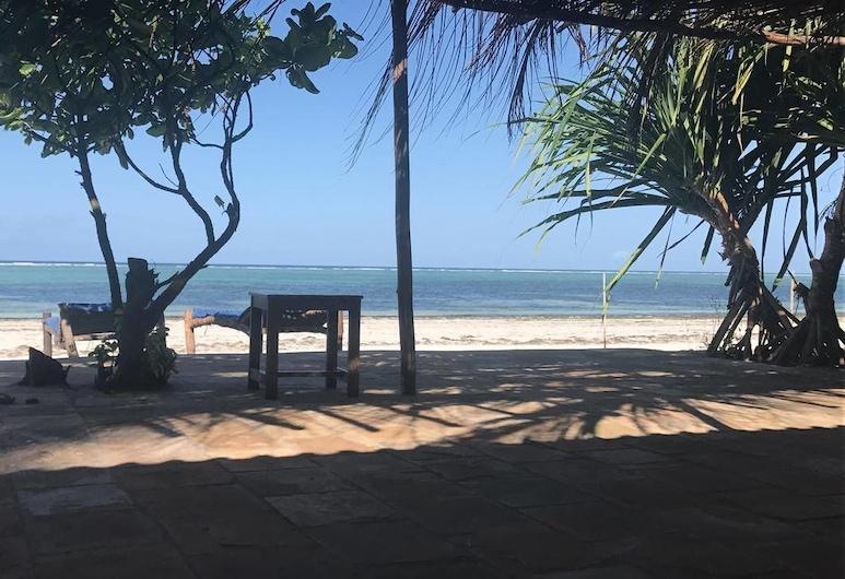 Panga Chumvi Beach Resort, Matemwe, Παραλία