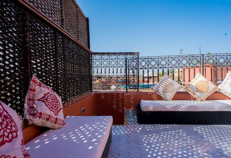 Riad Al Ralia, מרקש, שטחי הנכס