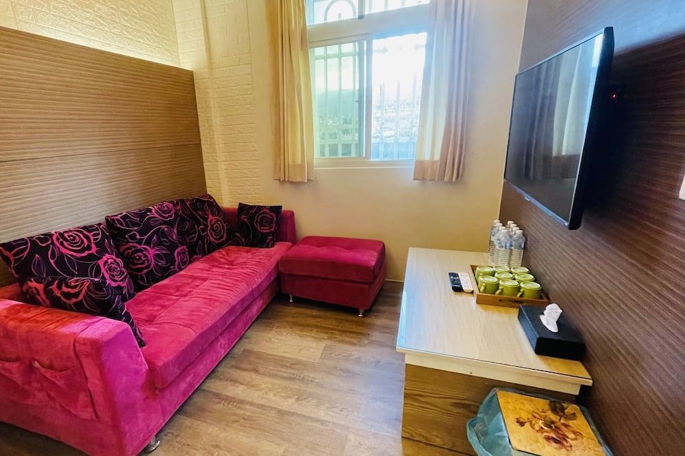 Rodinná izba, vaňa - Obývacie priestory