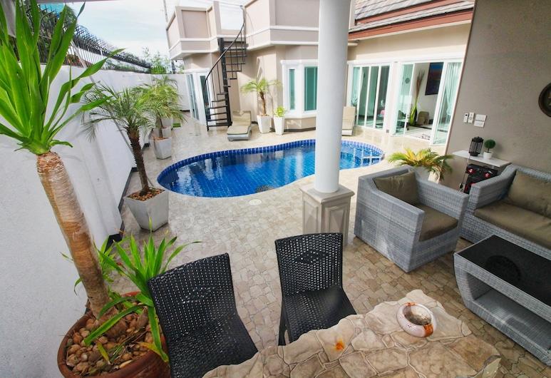 TJ Private Pool Villa, Pattaya, Vila typu Exclusive, súkromný bazén, Terasa