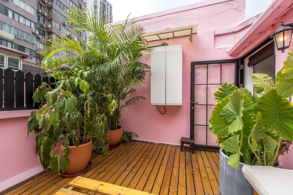Apartmán, viacero postelí, nefajčiarska izba - Balkón